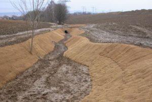 Jutegewebe für Erosionsschutz